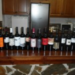 The red wines tasted at the 7th Annual DO Yecla Wine Competition 2014