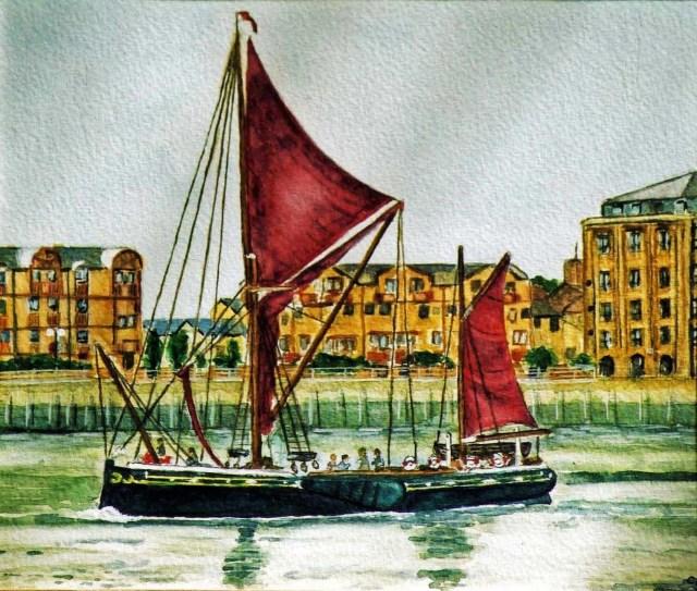 Thames Barge (Thames Path series)