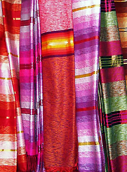 Nepalese Silks (photograph)