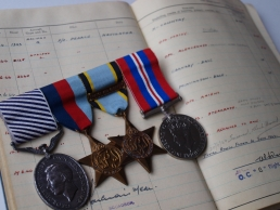 Kendal Medals and Log Book