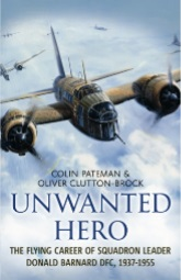 Unwanted Hero By Colin Pateman - Front Cover