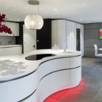 Colinton Furniture what is corian Thermoformed Kitchen