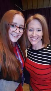 Danielle Walton and Erika Napoletano at CMA Live 2017
