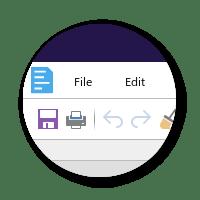 Collabora 4.0  bubble toolbar