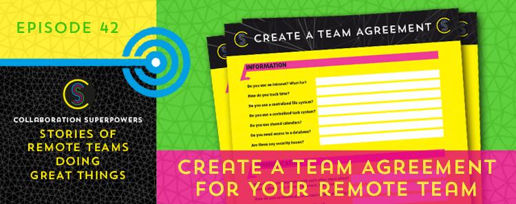 Create a team agreement