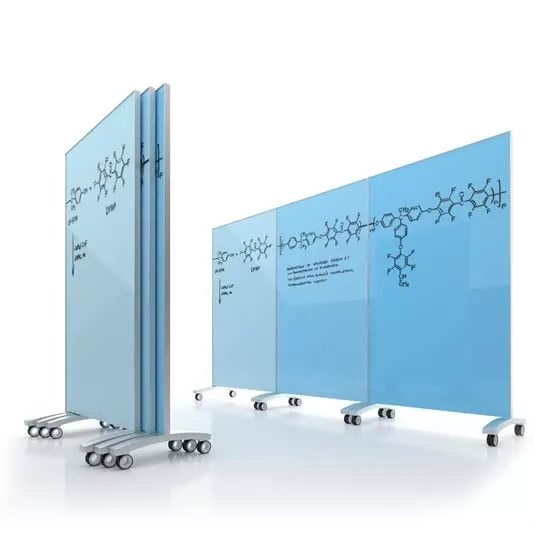 Glass Whiteboard Clarus Go Mobile Used By Apple