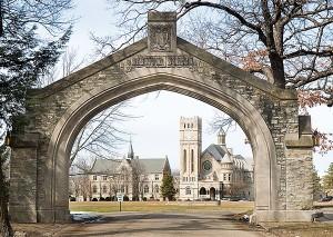 The Shattuck arch