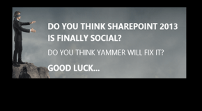 Is Yammer confusing the SharePoint Roadmap?