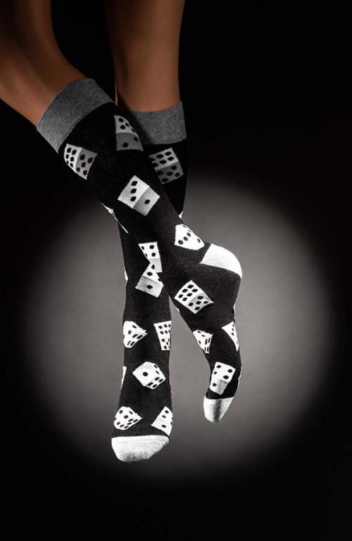 Veselé pánské ponožky kostky Dado