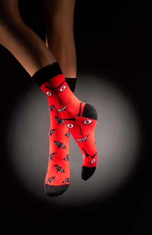 Veselé pánské ponožky netopýři Hororo