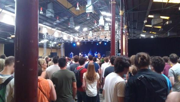 Austra - Laneway Festival, Brisbane 2012
