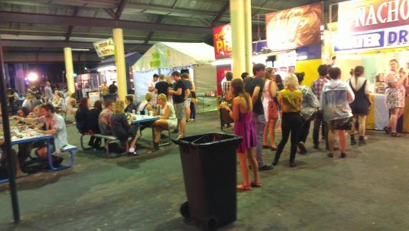 bin - Laneway Festival, Brisbane 2012