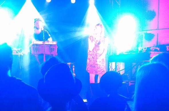 Glasser - Laneway Festival, Brisbane 2012