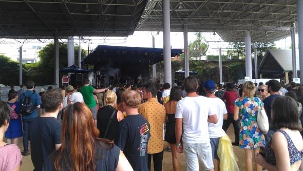Pajama Club - Laneway Festival, Brisbane 2012
