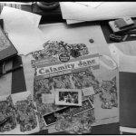 Calamity Jane - Martha Jane Cannary - album cover layout