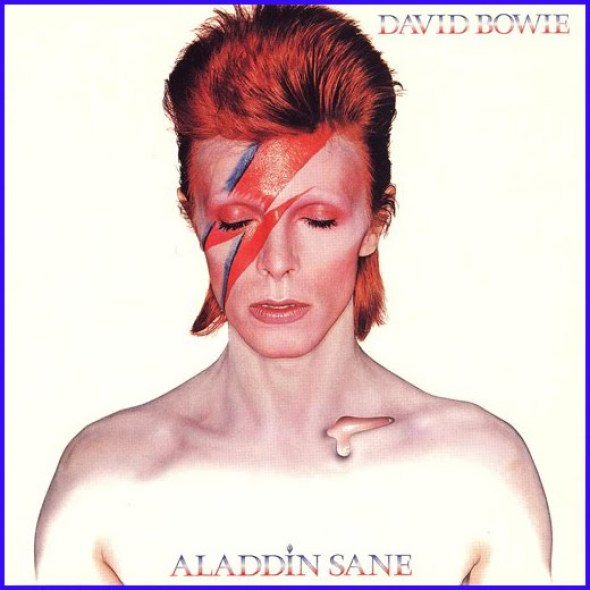 David Bowie Aladdin Sane cover