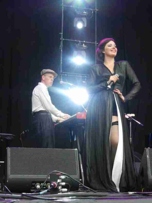 Dexys in Brisbane 2012 (Mick, Maddy)