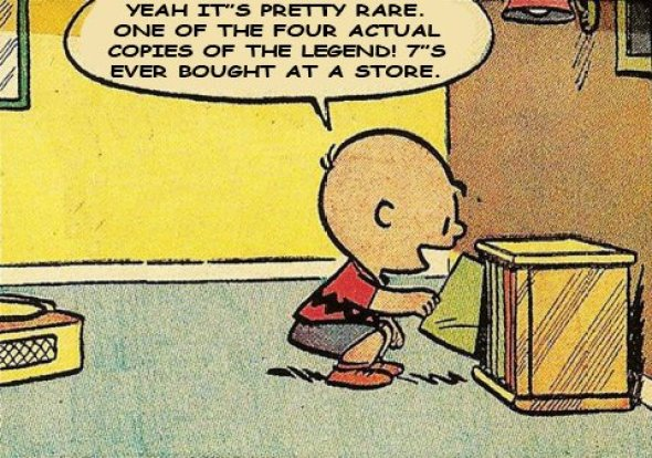 Charlie Brown legend