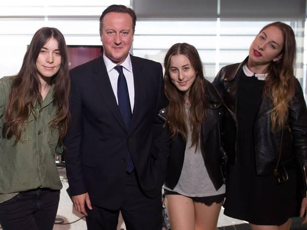 Haim David Cameron