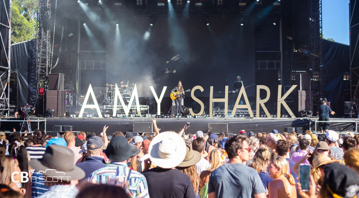 Amy Shark - Falls Festival @ Byron Bay, 02.01.2019