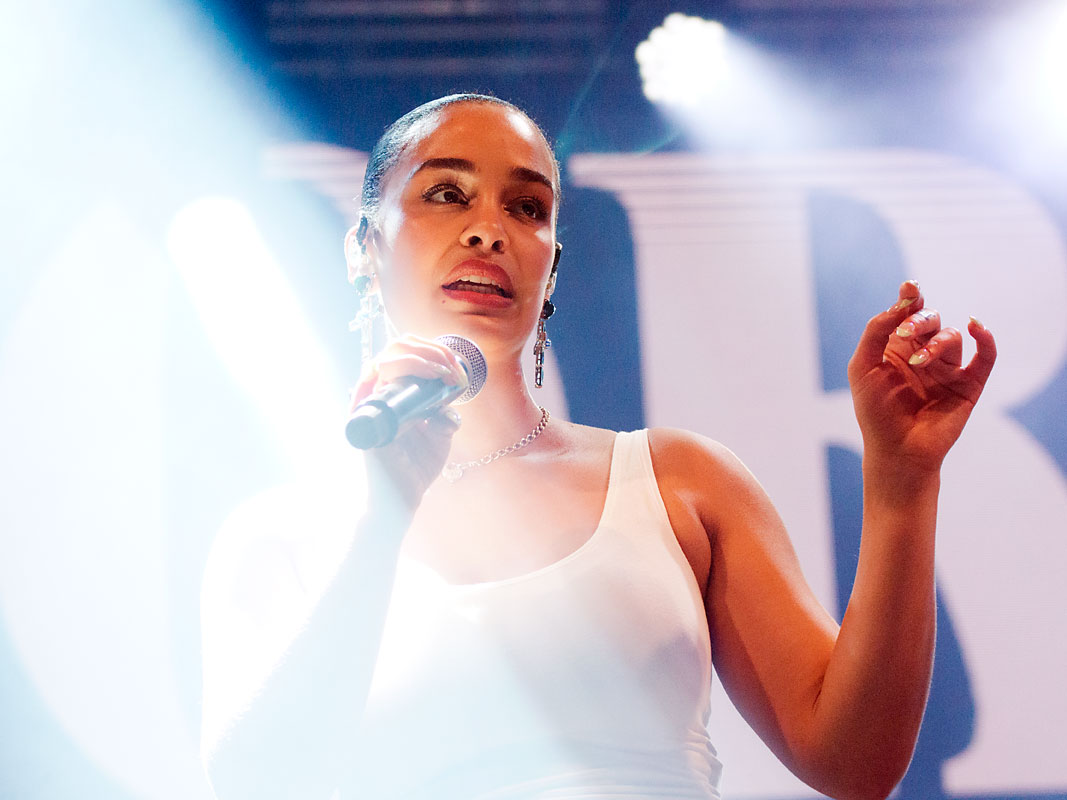 Jorja Smith @ Laneway Festival, RNA Showgrounds, Brisbane, Saturday 2 February 2019