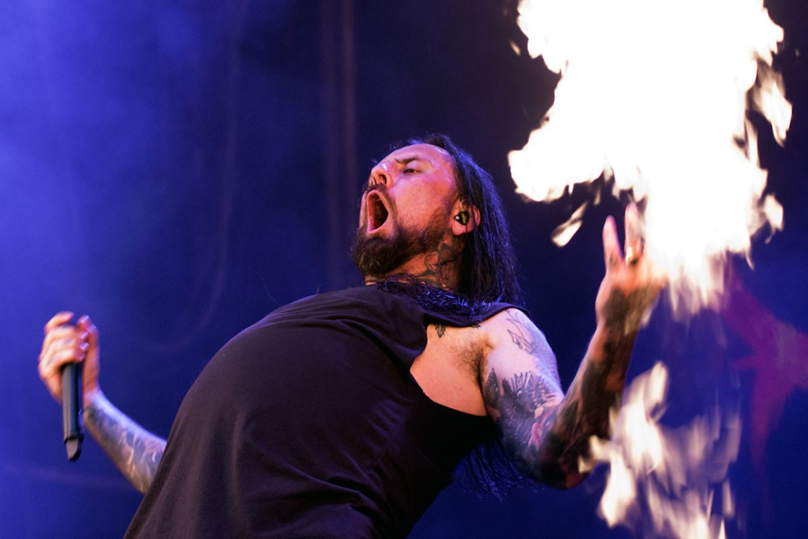 Thy Art Is Murder @ Download Festival, Parramatta Park, Saturday 9 March 2019