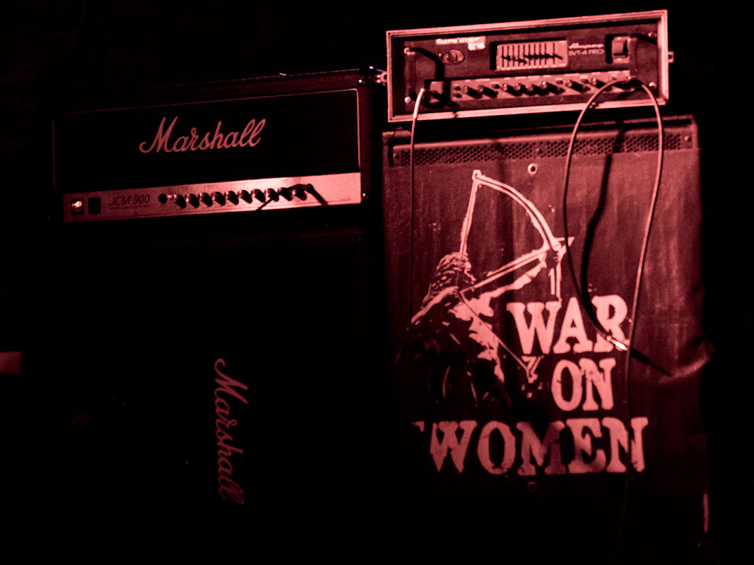 War On Women @ Underdogs' Ballroom, Prague, 11.06.2019
