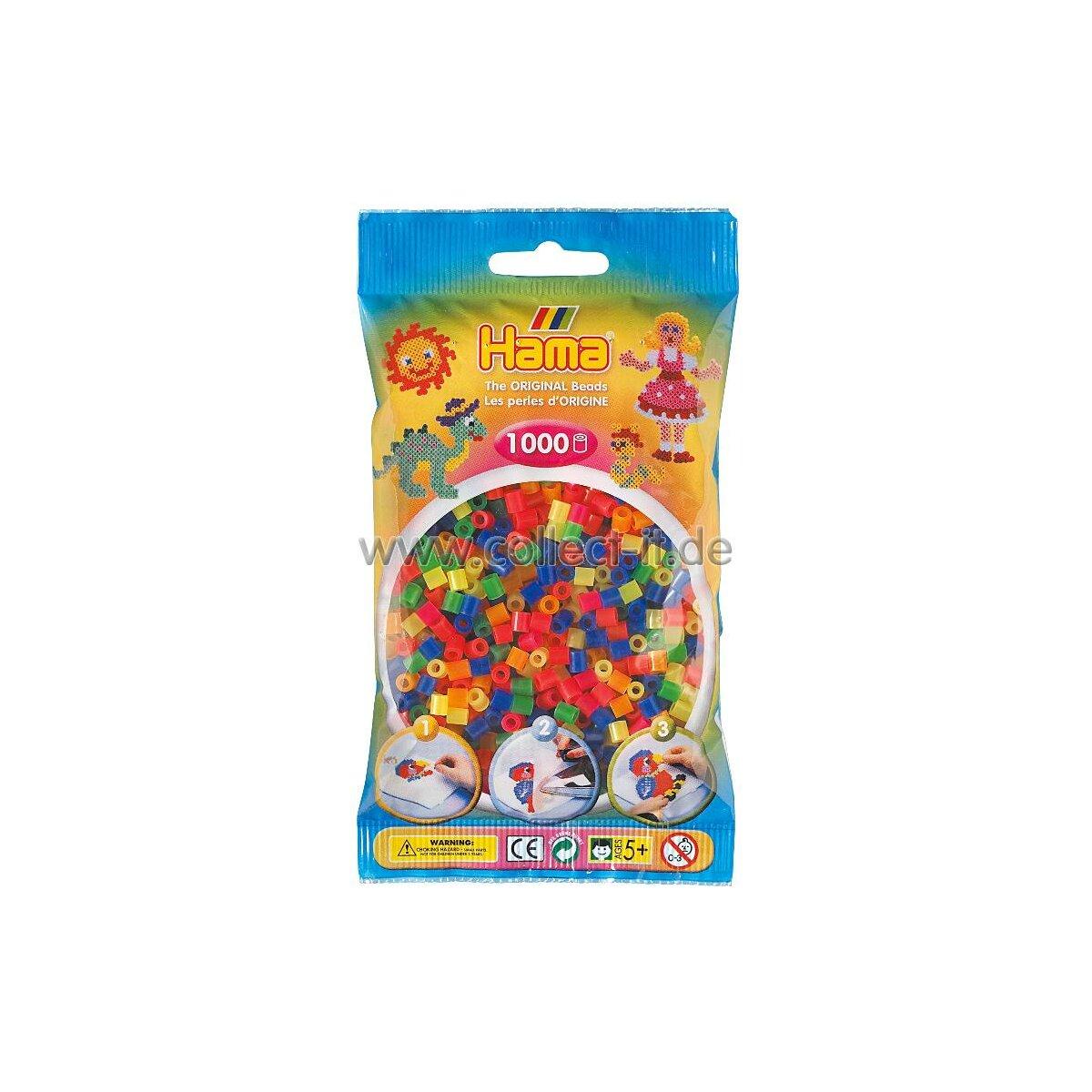 Hama Perlen Pastell Gemischt 1000 Stuck Ebay