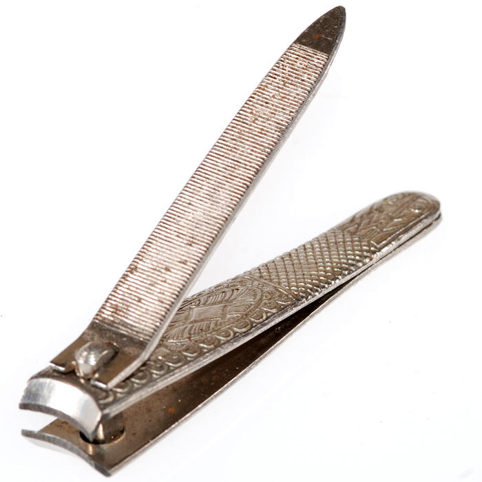 Vintage Millers Forge Finger Nail Clippers | Collect-Sell.com