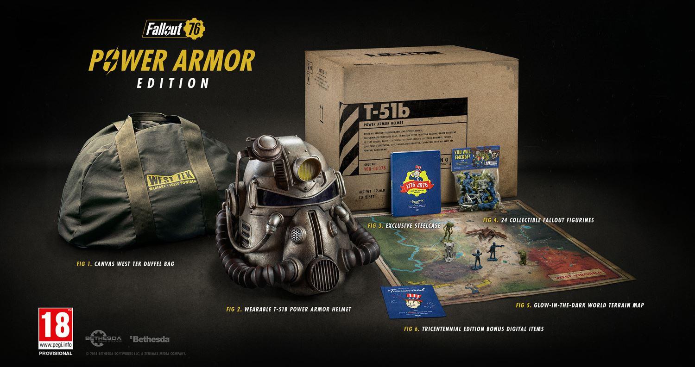 Update Fallout 76 Power Armor Edition Bietet Nuklearen Schutz Collect A Box