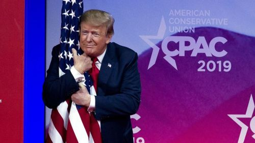 President Trump at the Conservative Political Action Conference