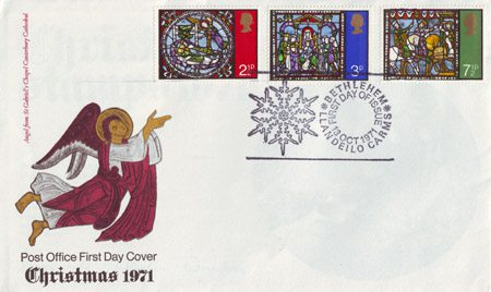 Christmas 1971 Collect GB Stamps