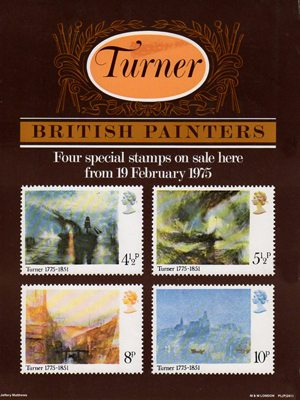 Birth Bicentenary Of JMW Turner Painter 1975