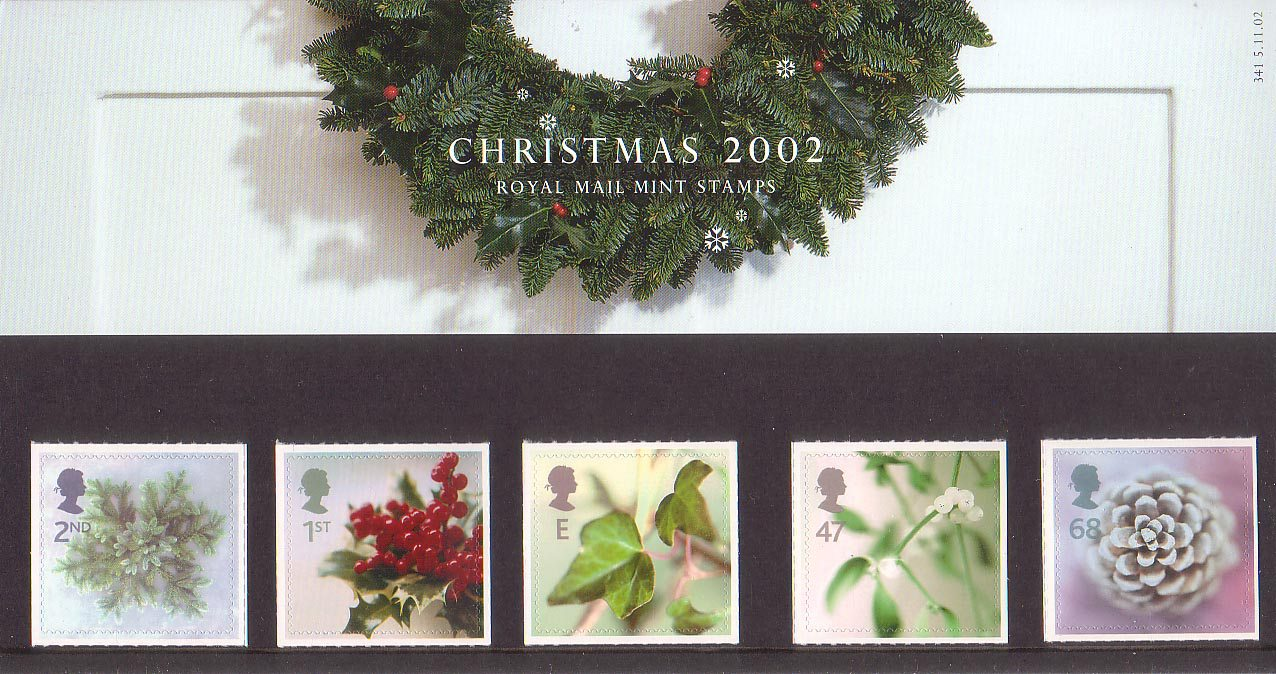Christmas 2002 Collect GB Stamps