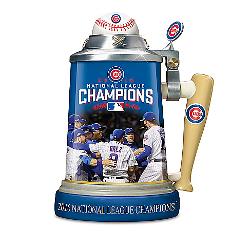 Chicago Cubs 2016 National League Champions Stein