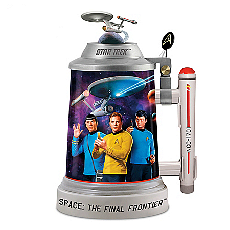 Star Trek Beer Stein Collectible