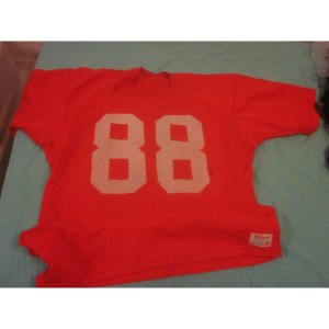 1976 NFL Football Tampa Bay Buccaneers Game Used Practice Jersey _Number_88 Barry Smith