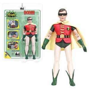Batman Classic 1966 TV Series 3 Robin (Removable Mask) 8-Inch Action Figure
