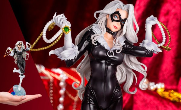 Black Cat Steals Your Heart Marvel Statue