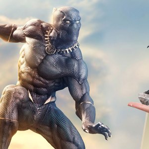 Black Panther Marvel 1:10 Scale Statue