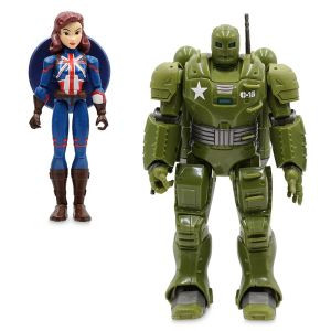 Captain Carter and The Hydra Stomper Action Figure Set Marvel Toybox Official shopDisney