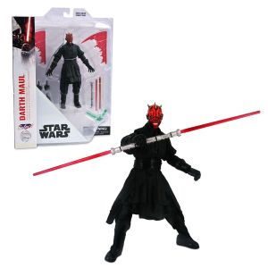 Darth Maul Collector's Edition Action Figure by Diamond Select Star Wars 7'' Official shopDisney