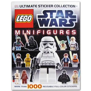 LEGO Star Wars Minifigure Ultimate Sticker Collection Book