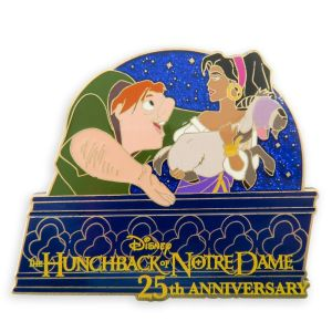 The Hunchback of Notre Dame 25th Anniversary Pin Limited Release Official shopDisney