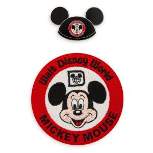 The Mickey Mouse Club Pin and Patch Set Walt Disney World