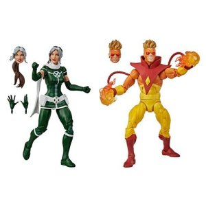 X-Men Marvel Legends Rogue and Pyro 6-Inch Action Figure 2-Pack