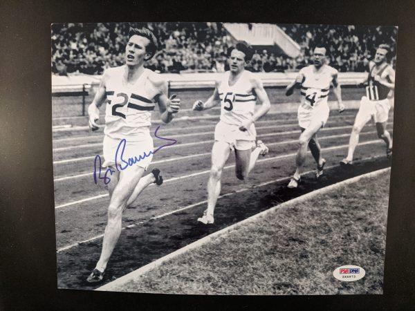 roger bannister signed photo