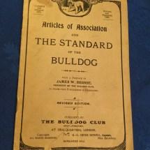 Very rare very special the bulldog bible