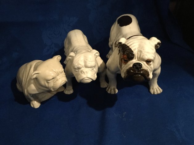 Rarer White Doulton Bulldog Collectables
