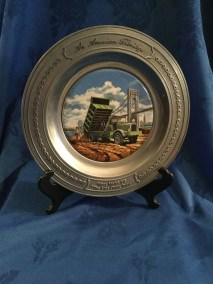 Mack trucks pewter dish 7